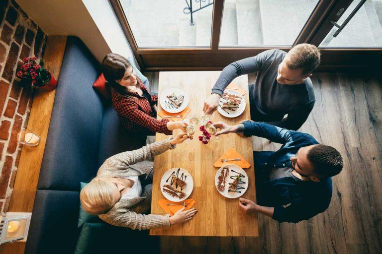 4 idées pour manger dehors sans grossir