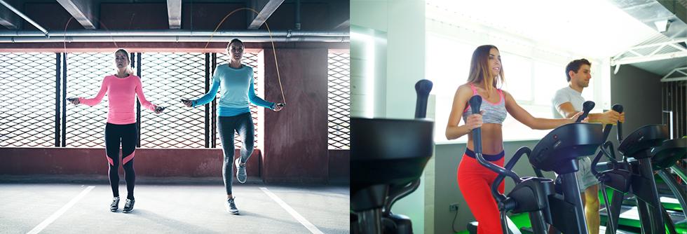 exercices qui travaillent le cardio